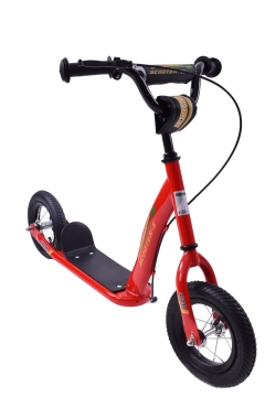 BikeBase Professional Scooter 10' Scoot-X-Red 2017