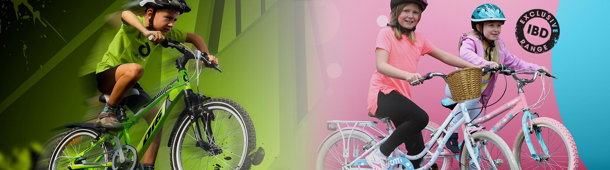 307cef6ab Rugged D-Bikes for boys and girl-focussed Dotti range both come in a range  of frame sizes to suit children of all ages and boast top specification as  ...