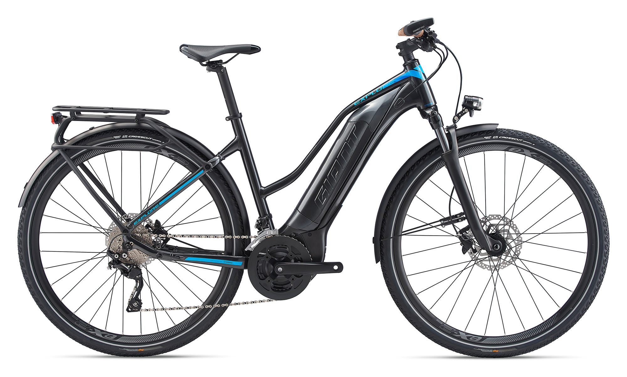 BikeBase Giant Explore E+ 1 Electric Stagger Frame Giant 2020 ***
