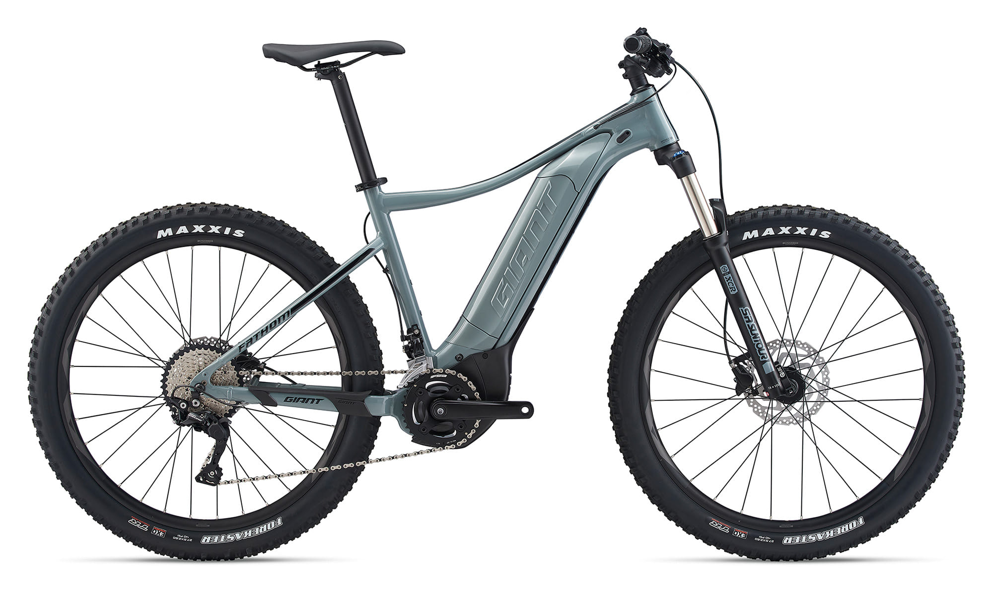 BikeBase Giant Fathom E+ 2  Electric Giant 2020 ***