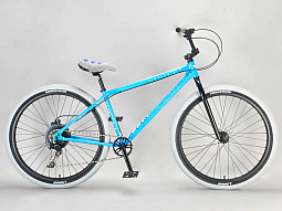 BikeBase Mafia Wheelie  Bomma  27.5 inch Blue Crackle ** 2021 **