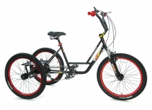 BikeBase Mission MX24 Trike  Black